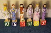 Muñecos de pinza para la ropa