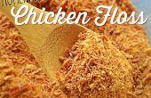 Caseros Rou Song - hilo para bordar de pollo (pollo destrozado secado)