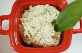 Receta de queso vegano crudo