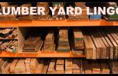 Una madera cartilla de trabajo: la madera yarda