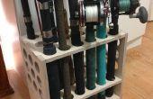 Estante - compacto e independiente - de pesca con el ranurador del CNC