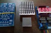 Módulo de visualización de LED de varios
