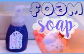 RECETA de jabón que hace espuma lavanda