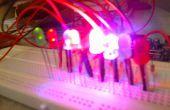 Cómo controlar 8 leds utilizando arduino uno