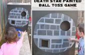Estrella de la muerte pintado juego de lanzamiento de pelota