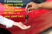 6 compra consejos de negociación! La manera más rápida de ahorrar dinero!