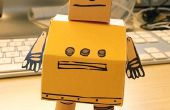 Oficial Robot de Instructables de Papercraft!