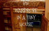 Gran armario en una casa pequeña