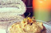 DIY: Harina de avena y manzanilla cara Scrub