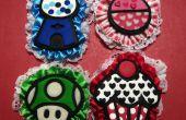 Cómo construir y arte broches de estilo de dibujos animados de arcilla de polímero