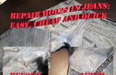 Agujeros en los pantalones vaqueros: solución fácil y barata
