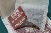 Broma de las bolsitas de té de salsa