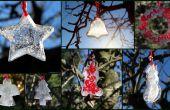 Decoraciones de hielo para el exterior, Navidad o cualquier celebración de invierno.