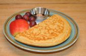 Tortitas de masa madre de melaza