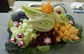 Cómo tallar fruta para centro de mesa