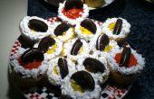 Cupcakes de equipo de fútbol!