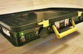 Todo en uno Portable Solar de alimentación: 220V + 12V + 5V batería automática de carga! ;)