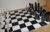 Juego de ajedrez de cartón