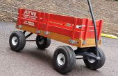 Restaurar una Radio Flyer Wagon