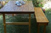 Mesa de jardín plegable de Groovy