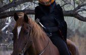 Horsewoman sin cabeza