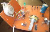 Variable de la fuente de potencia con circuito de protección