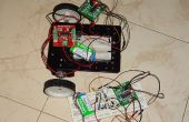Simple Robot inalámbrico sin microcontrolador