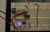 Intro de IC 555: LED parpadeante