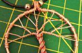 Collar árbol de alambre