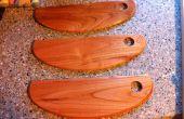 Cortadores de Pizza hecha en casa madera