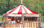 BRICOLAJE juego stand para boda temática de circo o fiesta!