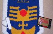Perforado de alfombra alfombra de escudo de Zelda 3