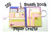 Cómo hacer un fácil Smash libro Slim - DIY artes de papel