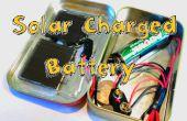 Cargar una batería con un Motor o un Panel Solar!