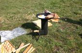 Cohete Camping estufa