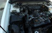 Cómo comprobar y cambiar un Sensor de flujo de aire de masa para un Subaru Forester de 1999