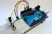 Sensor de proximidad infrarrojo simple con Arduino