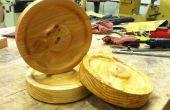 Cómo utilizar una plantilla para múltiplos en un torno de madera
