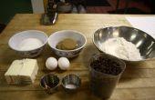 Rápida receta de galletas de chispas de Chocolate.
