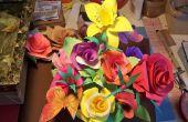 ¿Cómo hacer rosas de papel