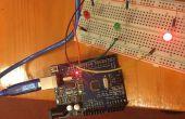 Proyecto de LED intermitente de Arduino para niños