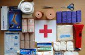 Botiquín de primeros auxilios para los coches y cómo usarlo