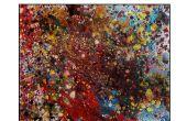 Pistola pintura en aerosol puede arte