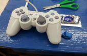 Sustituyendo la goma del Joystick de un control de Playstation usando Sugru