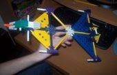 Knex Firehawk-Banshee transformable-avión de combate!