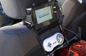Frambuesa Pi emulador consola para el asiento trasero