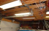 Reparación luz fluorescente tienda