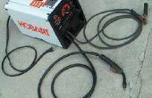 Facilitar un cable de alimentación soldador para llevar