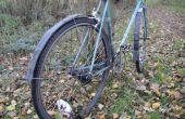 Guardabarros de bicicleta fácil de tubos interiores de la antigua