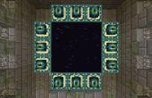 Cómo hacer un portal de ender en creative en minecraft
